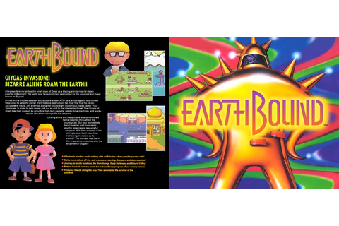 STARMEN.NET - EarthBound - Game Art Cards