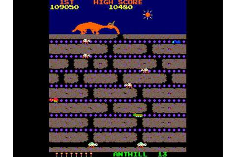 Arcade Game: Anteater (1982 Stern (Tago license)) - YouTube