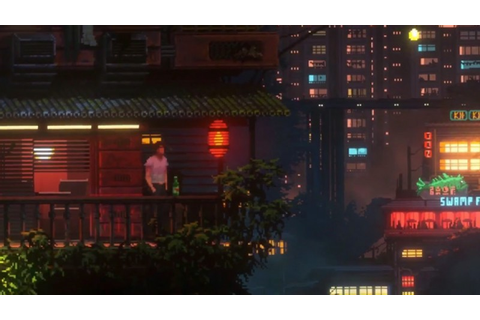 Retro-Styled Cyberpunk Game The Last Night Looks Cool ...