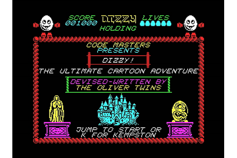 Indie Retro News: Dizzy - The Ultimate Cartoon Adventure ...