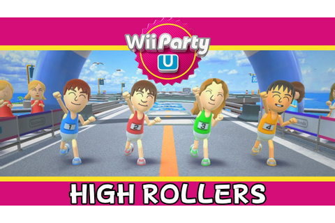 Wii Party U - High Rollers - Party Mode - YouTube