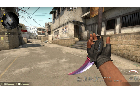 NEW CSGO Update 28/01/2016 DROP KNIFE - YouTube