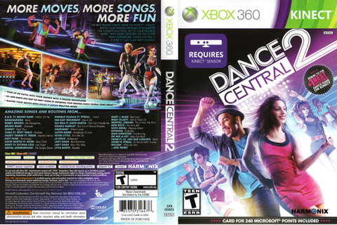 Games Covers: Capa Dance Central 2 - Xbox 360
