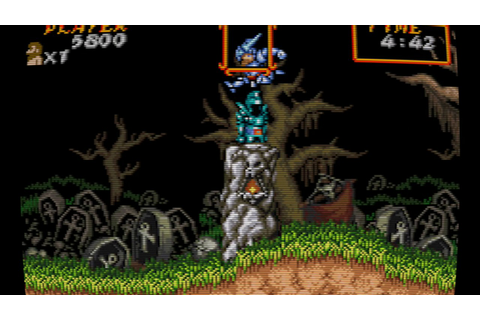 Super Ghouls'n Ghosts (Game Boy Advance) - YouTube