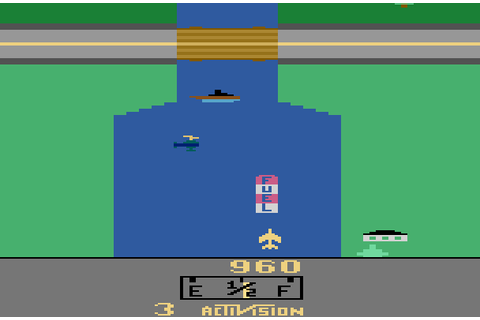 My all time favourite video games: River Raid - Atari 2600 ...