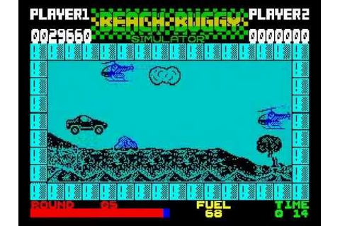Beach Buggy Simulator Walkthrough, ZX Spectrum - YouTube