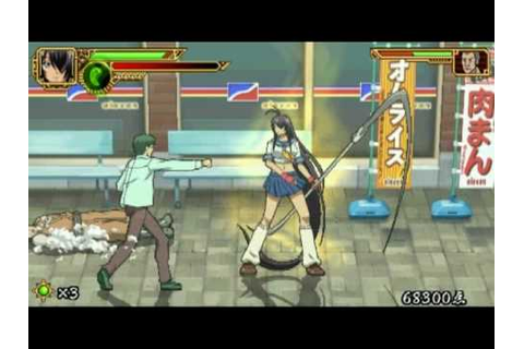 Ikki Tousen - Eloquent Fist PSP Game Video 1 [HQ] - YouTube