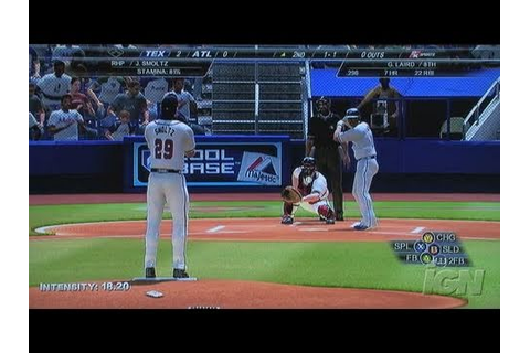 Major League Baseball 2K7 Xbox 360 Gameplay - Swinging at ...