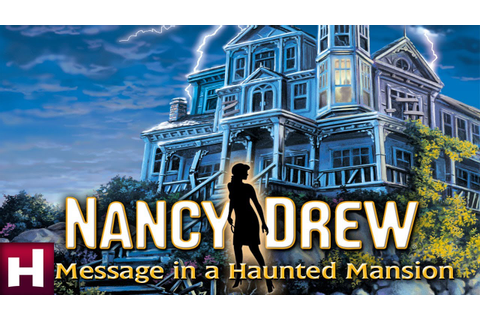 Nancy Drew: Message in a Haunted Mansion Official Trailer ...