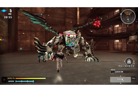 Freedom Wars 'Volunteer 01' gameplay video - Gematsu