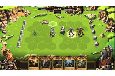 First Look At Scrolls Part 6: 2 Player Matches - Peadee ...