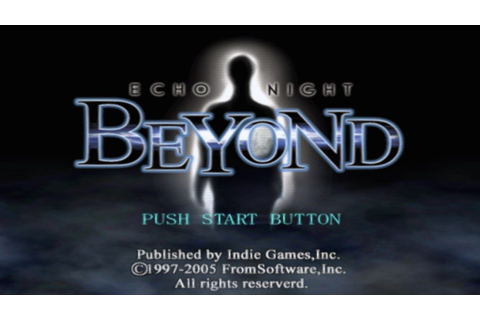 Echo Night: Beyond (2004) by From Software PS2 game