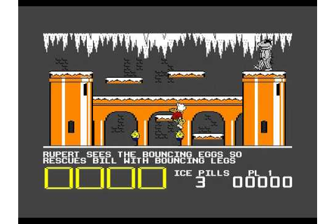 Rupert and the Ice Castle Quicksilva Commodore 64 C64 ...