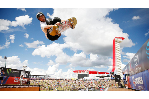 Sam Beckett wins X Games Skateboard Vert gold