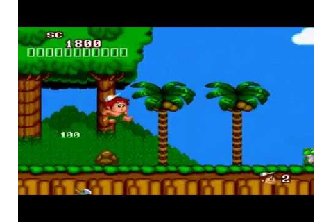 A jugar!: the new adventure island [PSP][nes remake] - YouTube