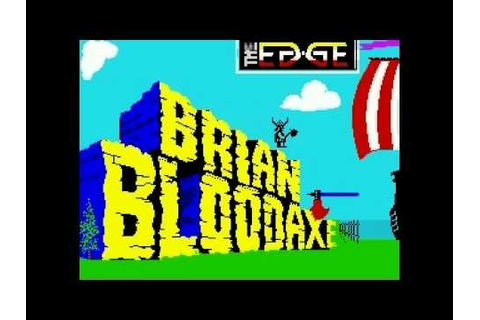 Brian BloodAxe ZX Spectrum Intro - YouTube