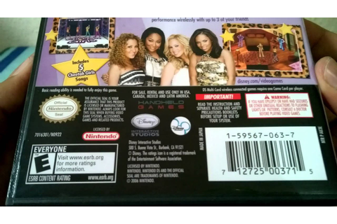 [Unboxing - NDS] The Cheetah Girls: Pop Star Sensations ...