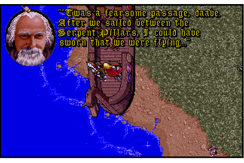 Ultima VII: Part Two - Serpent Isle | Play DOS games online