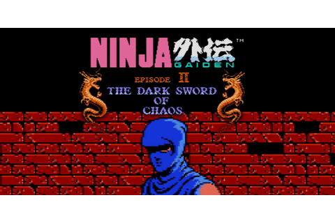 Ninja Gaiden II™: The Dark Sword of Chaos | NES | Games ...