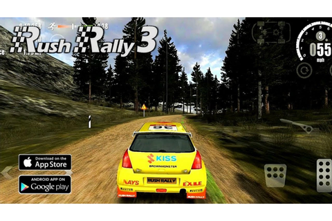 Rush Rally 3 | Best Racing game | Android game trailers ...