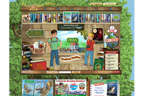Magic Tree House: The Website | Adventures in Literacy Land
