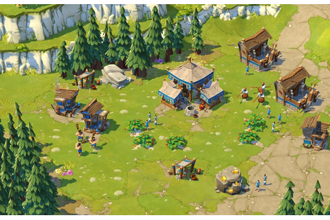 Age of Empires Online = Hardcore RTS + Farmville