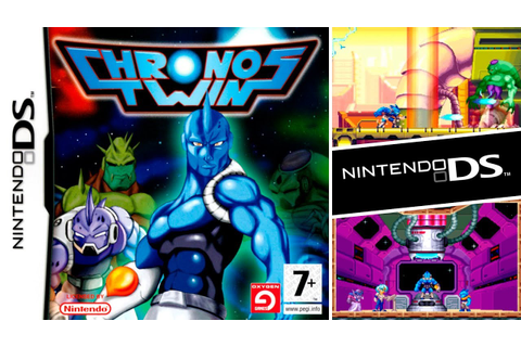 CHRONOS TWINS (Gameplay)(Nintendo DS) - YouTube