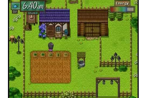 My Lazy Afternoons (Farming System) RPG MAKER VX - YouTube