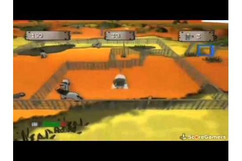 Critter Round-Up WiiWare Trailer - YouTube