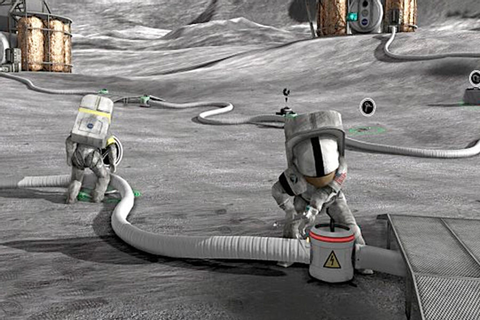 Moonbase Alpha: New NASA game lets you run a virtual lunar ...