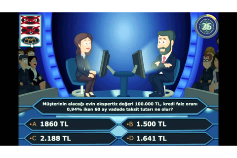 Exam Game; Who Wants To Be A Millionaire - YouTube