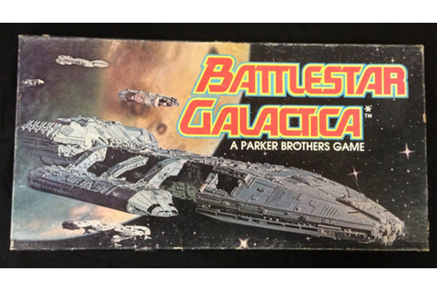 Battlestar Galactica board game (1978) - YouTube