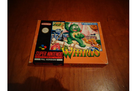 "Super Nintendo ""Whirlo"" Fully complete The Holy Grail of ..."