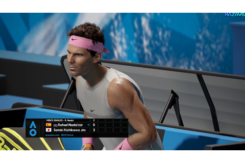 AO International Tennis ★ GamePlay ★ Ultra Settings - YouTube
