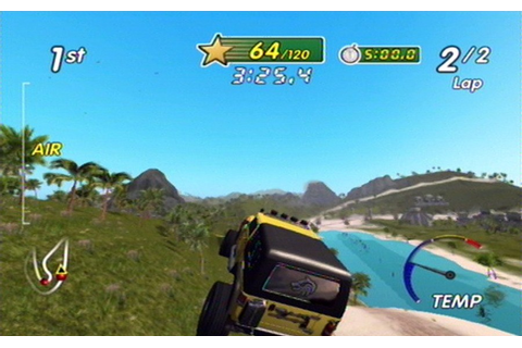 Excite Truck (Wii) Screenshots