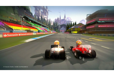 F1 Race Stars Gamescom screenshots released