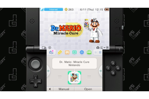 Dr. Mario: Miracle Cure - 20 Minute Playthrough [3DS ...