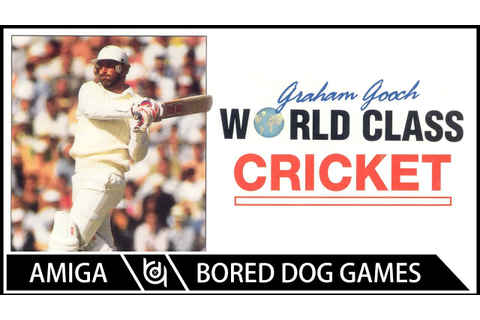 Graham Gooch World Class Cricket - Commodore Amiga Review ...