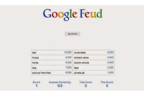 Google Feud a Fun and Addictive Game | internet ...