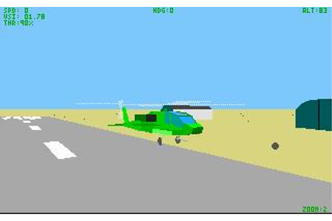 LHX Attack Chopper Download (1990 Simulation Game)