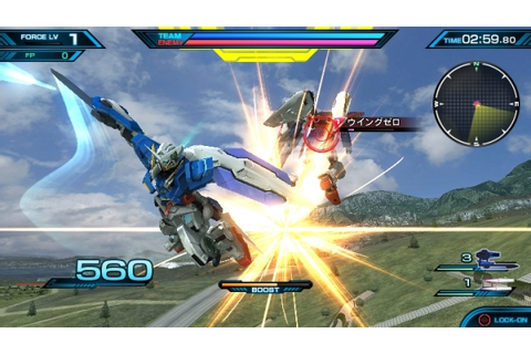 Mobile Suit Gundam: Extreme VS Force announced for PS Vita ...