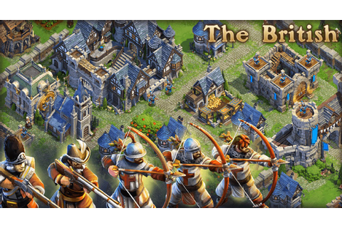 DomiNations - British Early Game Iron Age Longbow Men ...