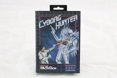 Cyborg Hunter Sega Master System Game and Box Only NO ...
