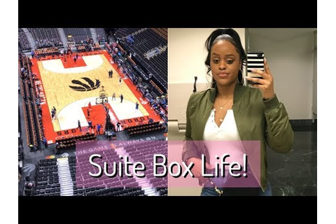 SUITE BOX LIFE!- Executive Suites at Raptors Basketball ...