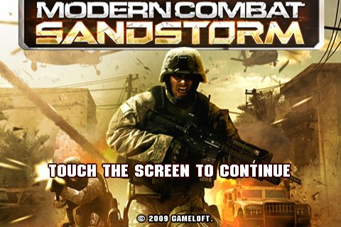 Modern Combat Sandstorm Android Game Free download ...