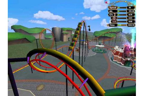 Ultimate Ride Disney Coaster- Toontown Trip - YouTube