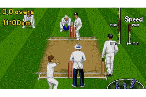 Brian Lara 96 - Sega Cricket Game - Cricket Games 247