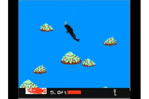 BLACKBASS nes game - YouTube