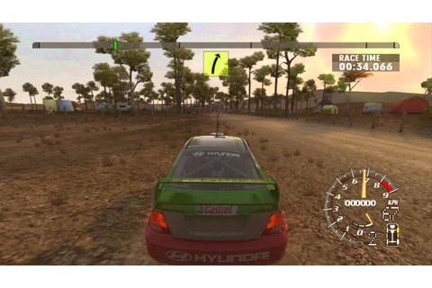 RalliSport Challenge 2 Gameplay — Played on XBox 360 {60 ...