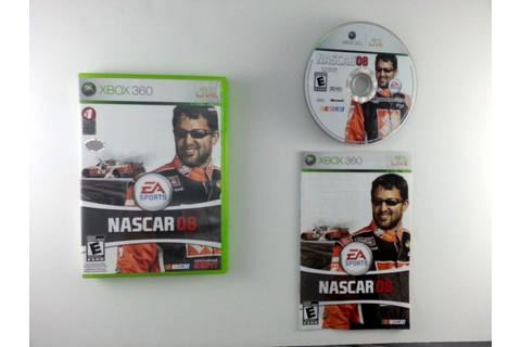 NASCAR 08 game for Xbox 360 (Complete) | The Game Guy